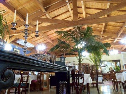 Copertura tetto in legno ristorante
